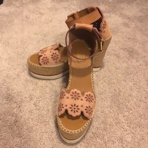 See By Chloe Glyn Espadrille Wedge